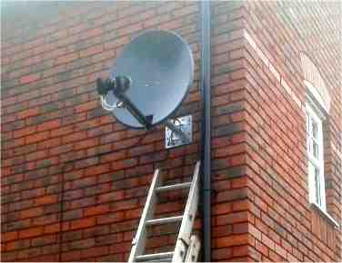 Replacement dish for UK ( Sky or Freesat ) AND TNT France